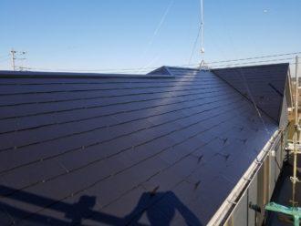 屋根塗り替え施工後